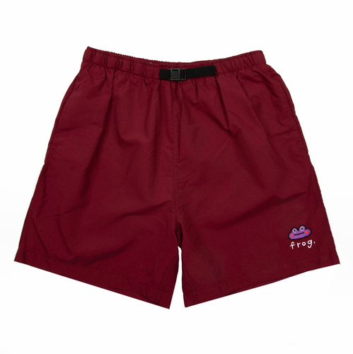 Frog Swim Trunks Maroon