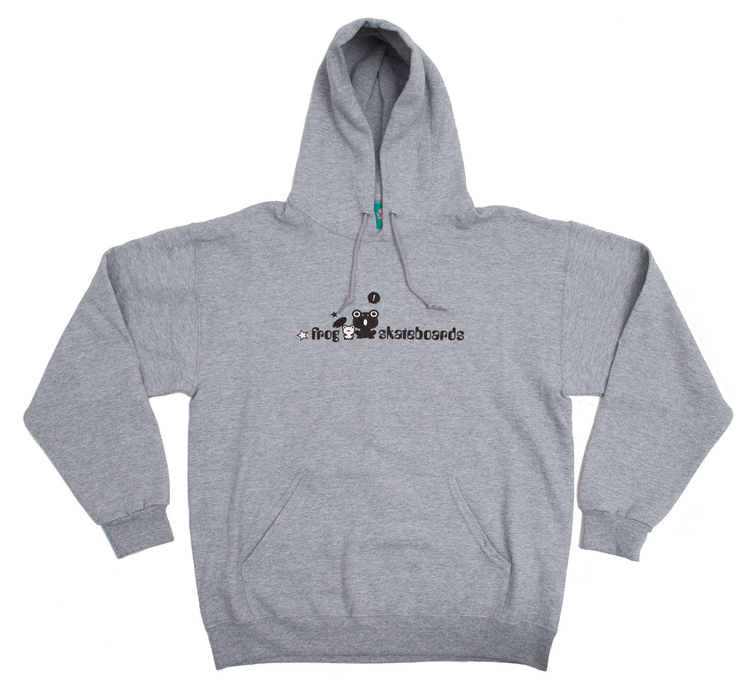 Frog Skateboards Hoody Grey