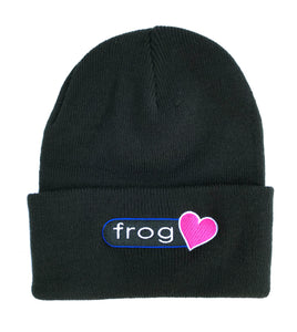 Perfect Heart Beanie Black