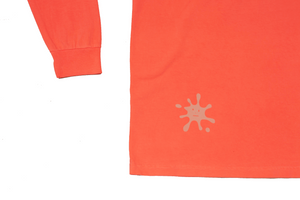 PopStar★  Longsleeve Neon Red Orange