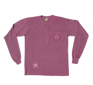 PopStar★  Longsleeve Clean Purple
