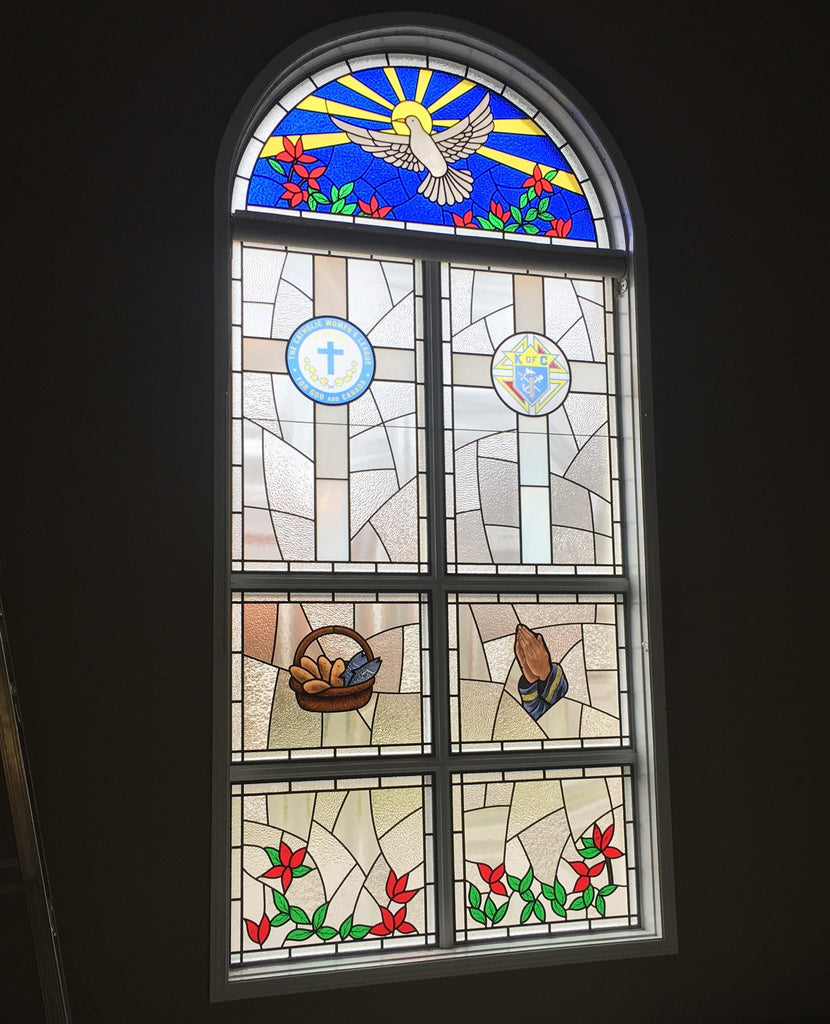 Beautiful Custom Stained Glass in Richmond