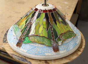 Tiffany Lamp at Northern Art Glass