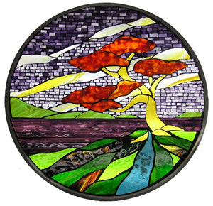 Stained glass art retail