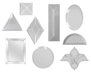 Glass Bevels, Glass Shapes