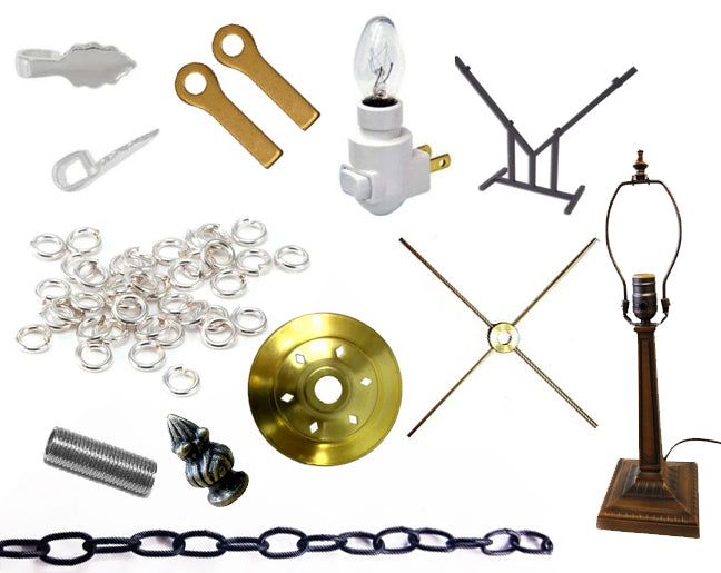 Hardware (Hooks, Chains, Bails, Lamp Parts, Stands)