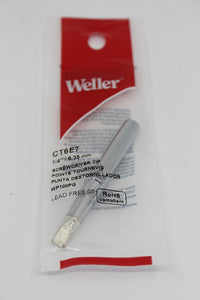 "WELLER 1/4"" Replacement Soldering Iron Tip"