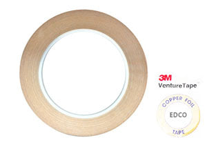 Copper Foil Tape Black Back (3/16'' 7/32'' 1/4'' 3/8'' 1/2'' ) - VENTURE/EDCO