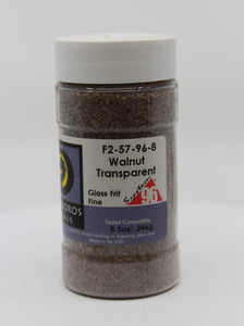 Walnut Transparent Frit - Fine