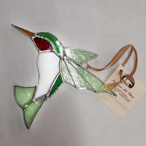 Hummingbird Suncatcher 6'' x 7''
