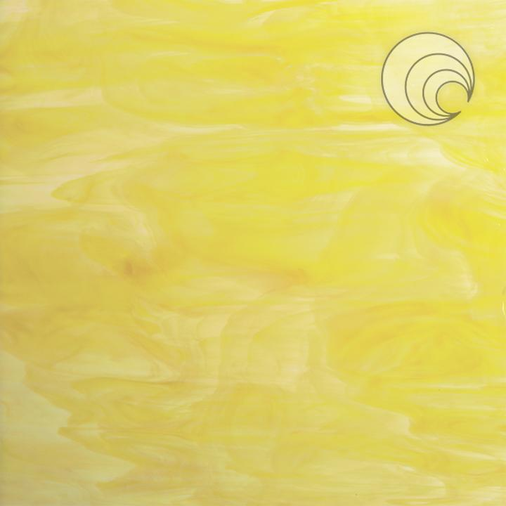 White/Yellow Smooth Opal Fusible