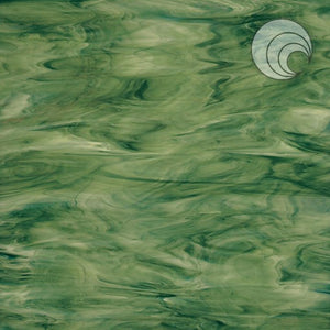 Forest Green Opal Fusible
