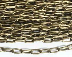 Chain, 18G  Lamp Chain, Antique Brass (per foot)
