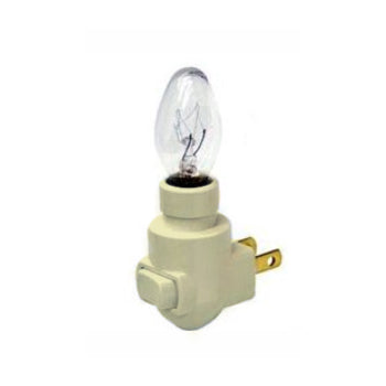 Nite Light Ivory Base & Bulb (with clip)