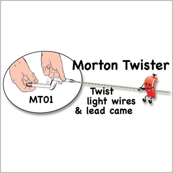 Morton Twister - MORTON GLASS WORK