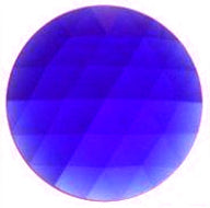 Faceted Jewel- 35mm- Sapphire