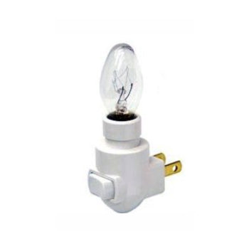 Nite Light White Base & Bulb (without clip)