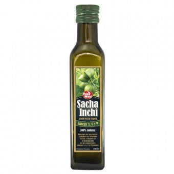 Aceite Sacha Inchi 250ml Extra Virgen - 100% Natural - Omega 3-6-9
