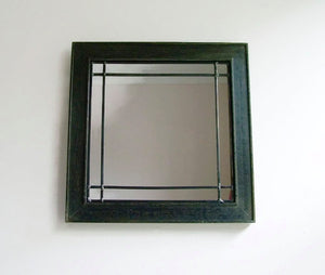 Leaded Wall Mirror