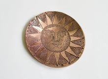 Copper Trinket Dish -  Ring Dish - Sun