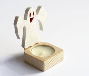 Ghost - Halloween Candle Holder
