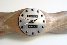 Wooden Airplane Propeller Clock