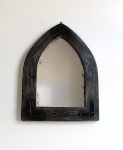 Gothic Arched Mirror - Reclaimed Wood Wall Mirror