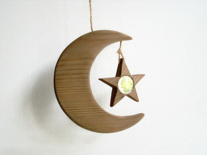 Moon and Star Sun Catcher
