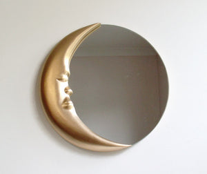 Man in the Moon Wall Mirror 12""