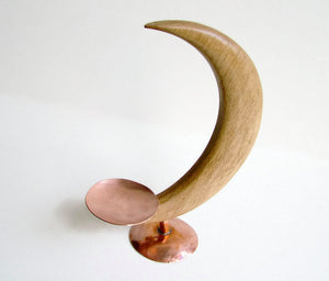 Moon Candle Holder