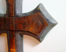Gothic Cross Candle Holder