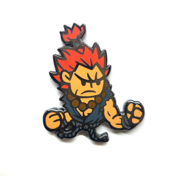 Nixax x Pinupper Akuma - Pinupper Online Enamel pin Shop | Game, Pop Culture, Cartoon, Lifestyle, Streetwear Accessories