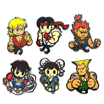 Nixax Street Fighter Super Combo - Pinupper Online Enamel pin Shop | Game, Pop Culture, Cartoon, Lifestyle, Streetwear Accessories