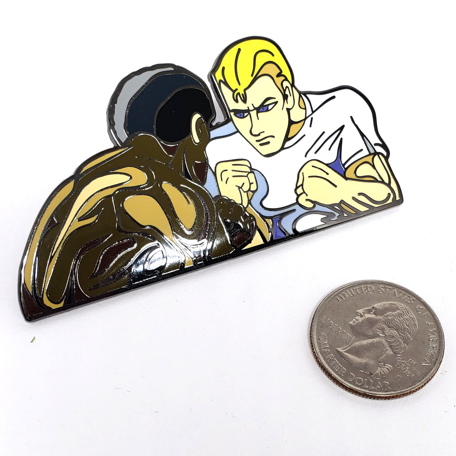 Scott and Max from SF2 Opening - Pinupper Online Enamel pin Shop | Game, Pop Culture, Cartoon, Lifestyle, Streetwear Accessories