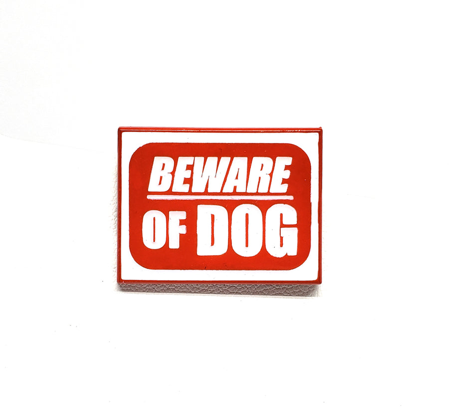 Beware of the DOG - Pinupper Online Enamel pin Shop | Game, Pop Culture, Cartoon, Lifestyle, Streetwear Accessories