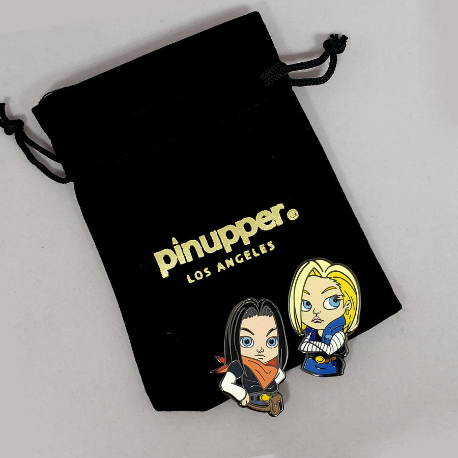 ANDROID 17 & 18 - Pinupper Online Enamel pin Shop | Game, Pop Culture, Cartoon, Lifestyle, Streetwear Accessories