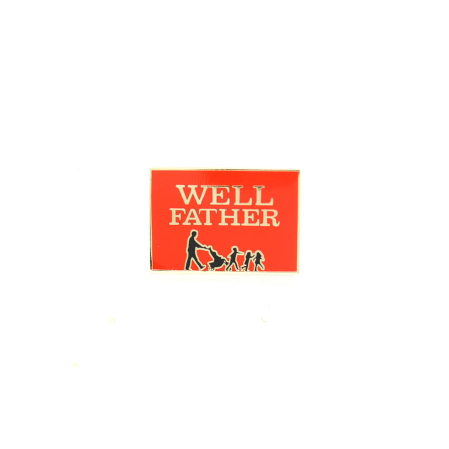 Well Father - Pinupper Online Enamel pin Shop | Game, Pop Culture, Cartoon, Lifestyle, Streetwear Accessories