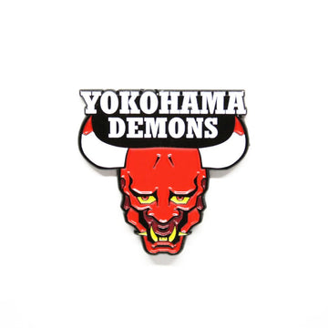 Yokohama Demons - Pinupper Online Enamel pin Shop | Game, Pop Culture, Cartoon, Lifestyle, Streetwear Accessories