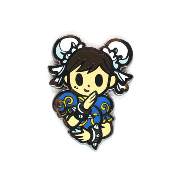 Nixax x Pinupper Chunli - Pinupper Online Enamel pin Shop | Game, Pop Culture, Cartoon, Lifestyle, Streetwear Accessories