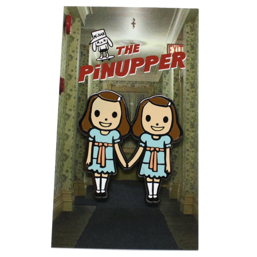 Nixax x Pinupper twins - Pinupper Online Enamel pin Shop | Game, Pop Culture, Cartoon, Lifestyle, Streetwear Accessories