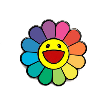 SPINNING HAPPY FLOWER - Pinupper Online Enamel pin Shop | Game, Pop Culture, Cartoon, Lifestyle, Streetwear Accessories