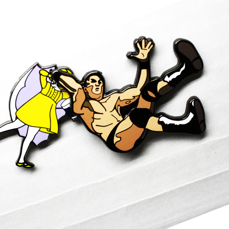 RKO - Pinupper Online Enamel pin Shop | Game, Pop Culture, Cartoon, Lifestyle, Streetwear Accessories