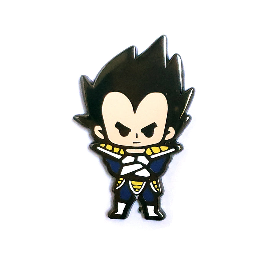 Nixax x Pinupper Vegeta - Pinupper Online Enamel pin Shop | Game, Pop Culture, Cartoon, Lifestyle, Streetwear Accessories
