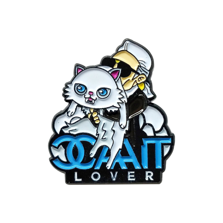 CAT LOVER - Pinupper Online Enamel pin Shop | Game, Pop Culture, Cartoon, Lifestyle, Streetwear Accessories