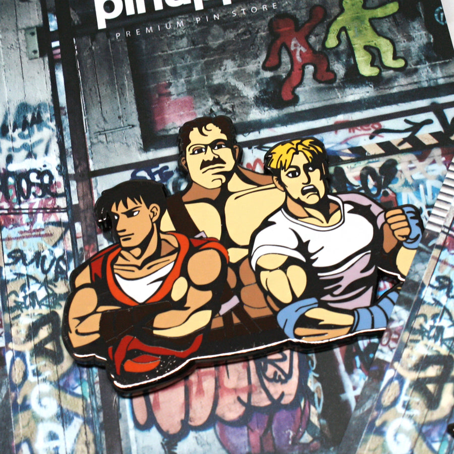 FINAL FIGHT - Pinupper Online Enamel pin Shop | Game, Pop Culture, Cartoon, Lifestyle, Streetwear Accessories