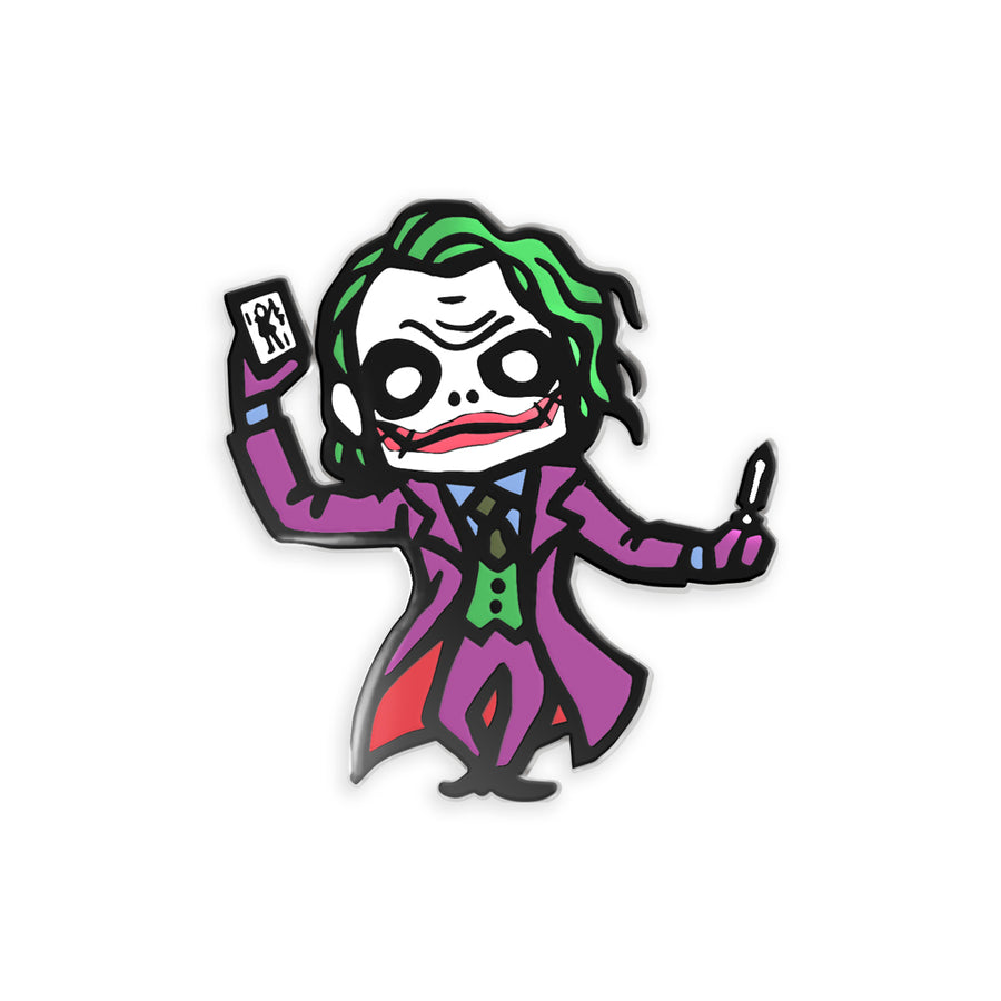 Nixax x Pinupper Joker - Pinupper Online Enamel pin Shop | Game, Pop Culture, Cartoon, Lifestyle, Streetwear Accessories