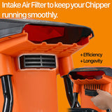 SuperHandy Electric Wood Chipper Shredder