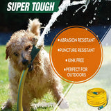 "SuperHandy Garden Water Hose 5/8"" Inch x 100'"