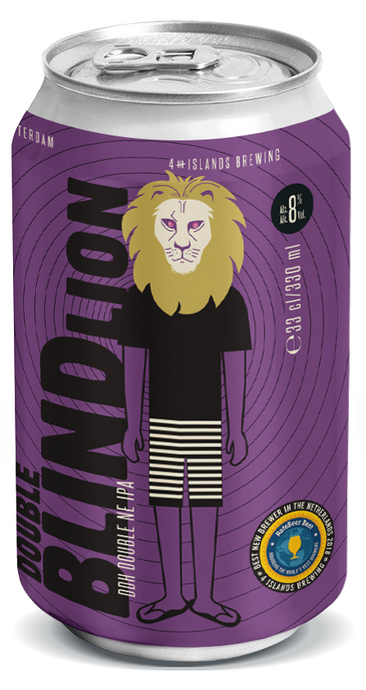 Double Blind Lion DIPA (4-Pack)