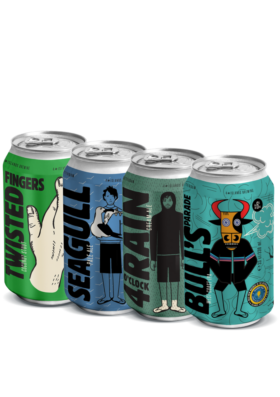 Mixed Beers (4-Pack)